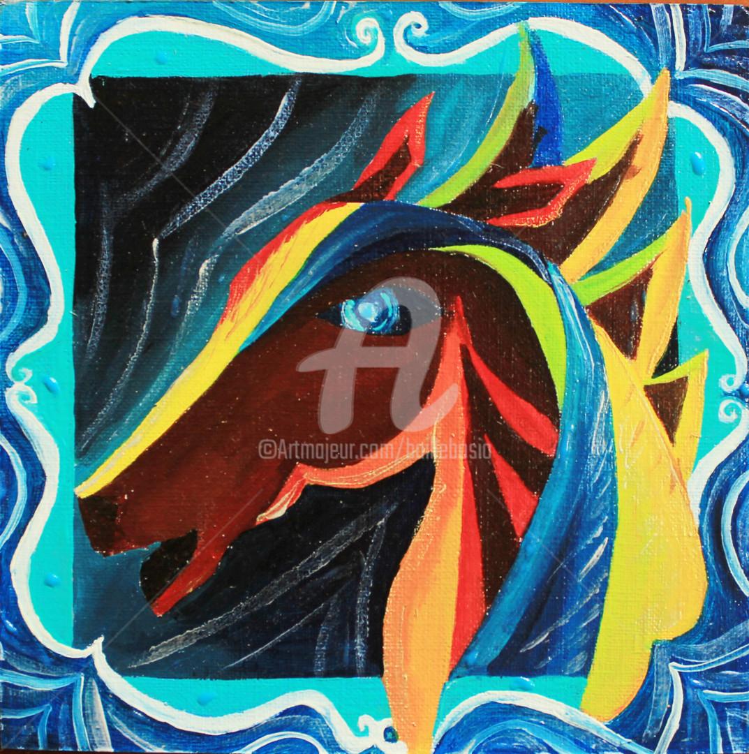 Jez Bb - Le cheval Bourbon