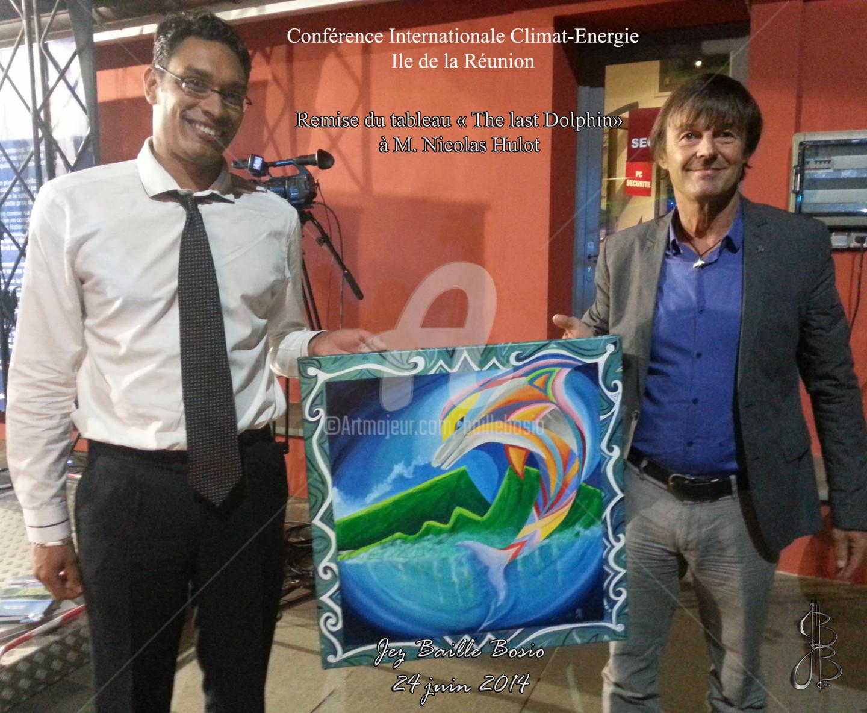 Jez Bb - The Last Dolphin - M.Nicolas Hulot le 24 juin 2014