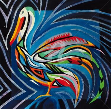 Peinture, huile, œuvre d'art par Jez Bb