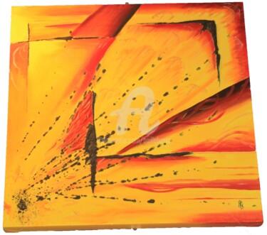 Peinture, huile, abstrait, œuvre d'art par Jez Bb