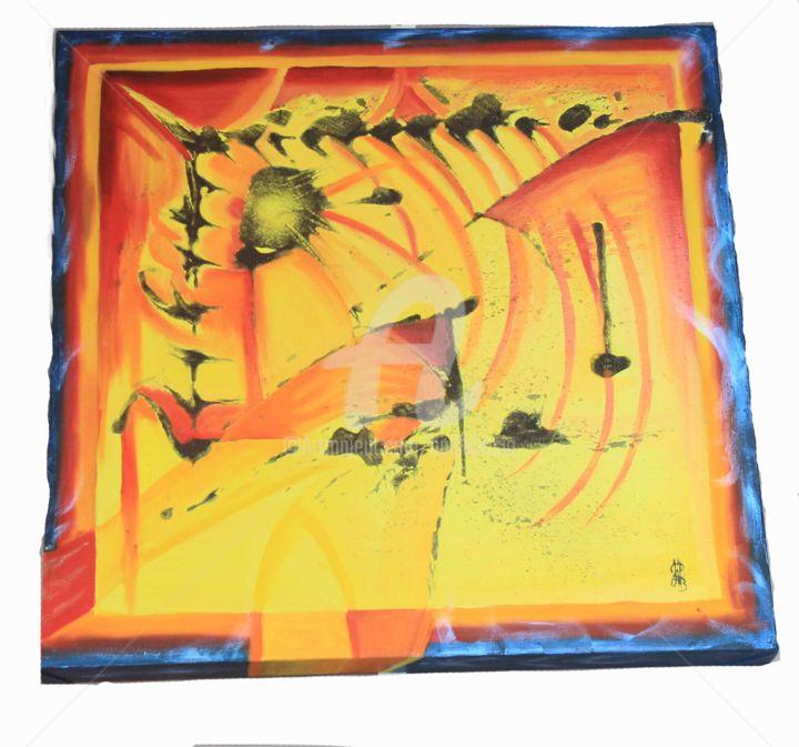 Lava flow abstraction rythmique
